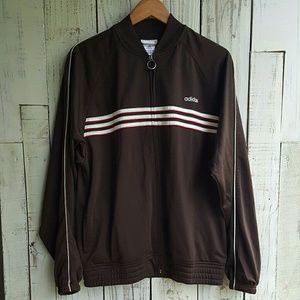 Vintage adidas zip up jacket men's size M